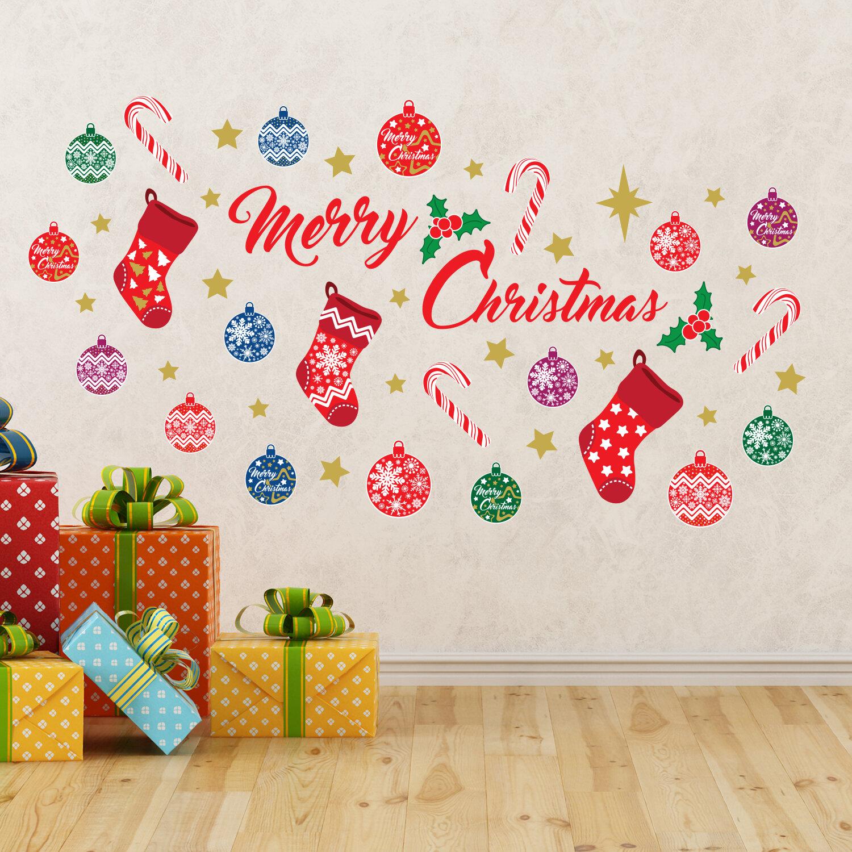 The Holiday Aisle Merry Christmas Wall Decal Reviews Wayfair