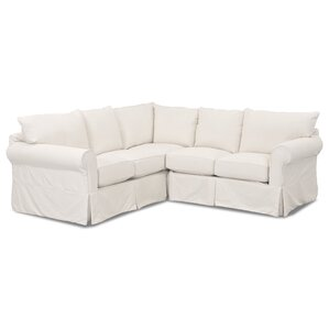 sc 1 st  Wayfair : sectional sofa with slipcover - Sectionals, Sofas & Couches