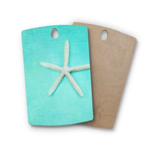 Sylvia Cook Birchwood Starfish Cutting Board By East Urban Home