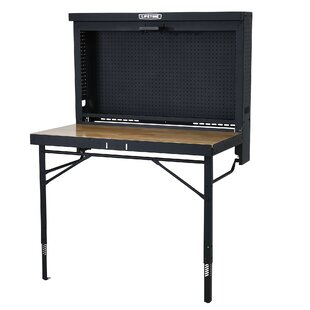 Wall-Mounted Work Table By Lifetime