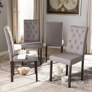 Baxton Studio Andrew Side Chair (Set of 4)