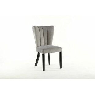 Vermehr Upholstered Dining Chair (Set of 2) Rosdorf Park