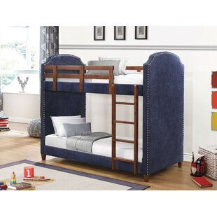 Wallace Twin over Twin Bunk Bed by Harriet Bee