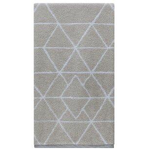 Tatianna Triangles Cotton Bath Towel