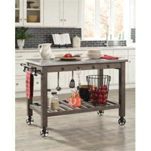 Baston Kitchen Island Gracie Oaks