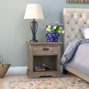 Elise 1 Drawer Nightstand by Grovelane Teen