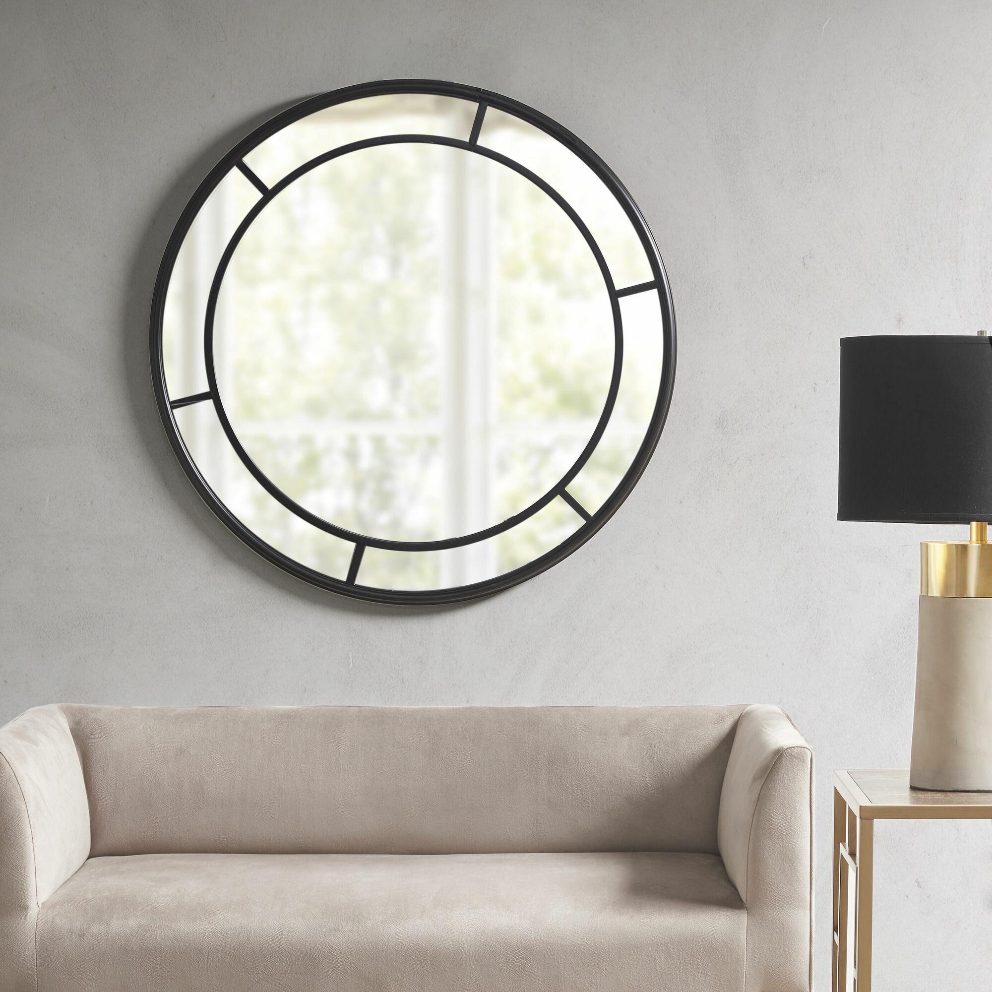 Martha Stewart Katonah Round Accent Mirror Reviews Wayfair