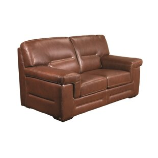 Astoria Leather Loveseat