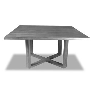 Nusbaum Solid Wood Dining Table by Union Rustic Wonderful
