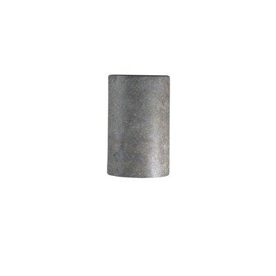 Latitude Run Scanlan Closed Top Small Cylinder 1 Light Wall Sconce Finish: Antique Patina