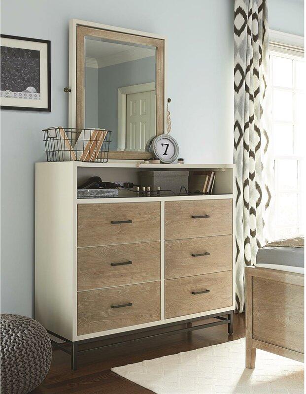 myRoom 6 Drawer Double Dresser