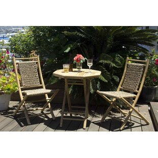 Entrada 3 Piece Indoor/Outdoor Bistro Set