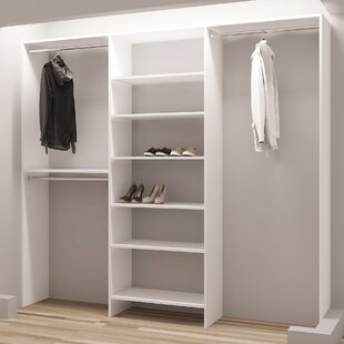 Compare prices Demure Design 87W Closet System ByTidySquares Inc.