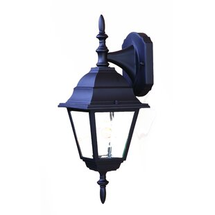 Read Reviews Ledbetter Modern 1-Light Outdoor Wall Lantern By Charlton Home