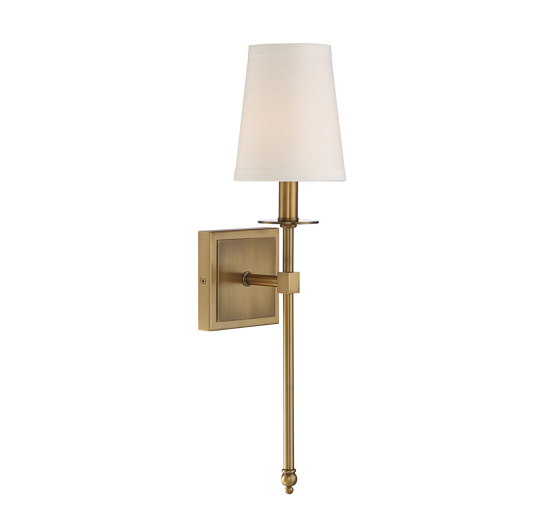 Ivory Cream Shade Wall Sconces You Ll Love In 2021 Wayfair