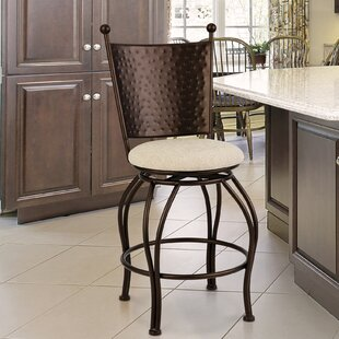 Mcelvain 30 Swivel Bar Stool by Bloomsbury Market
