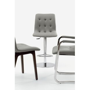 Kuga Adjustable Height Swivel Bar Stool