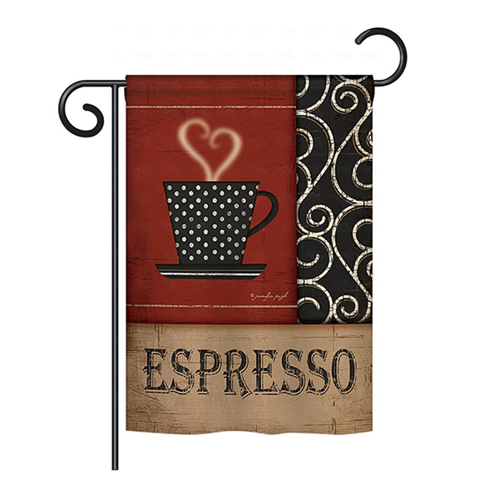 ESPRESSO 3/'X 5/' FLAG POLY