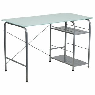 Symple Stuff Kuebler Glass Desk