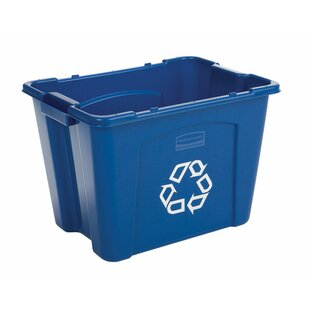 Rubbermaid Commercial Products 14 Gallon Recycling Bin