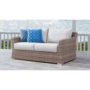 Searle Olefin Loveseat with Cushions