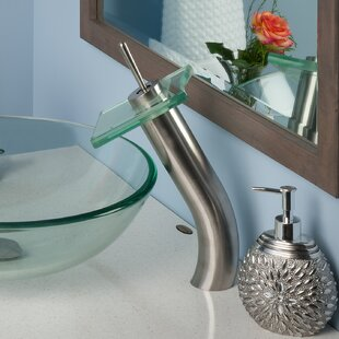 Novatto Squared Waterfall Faucet Set