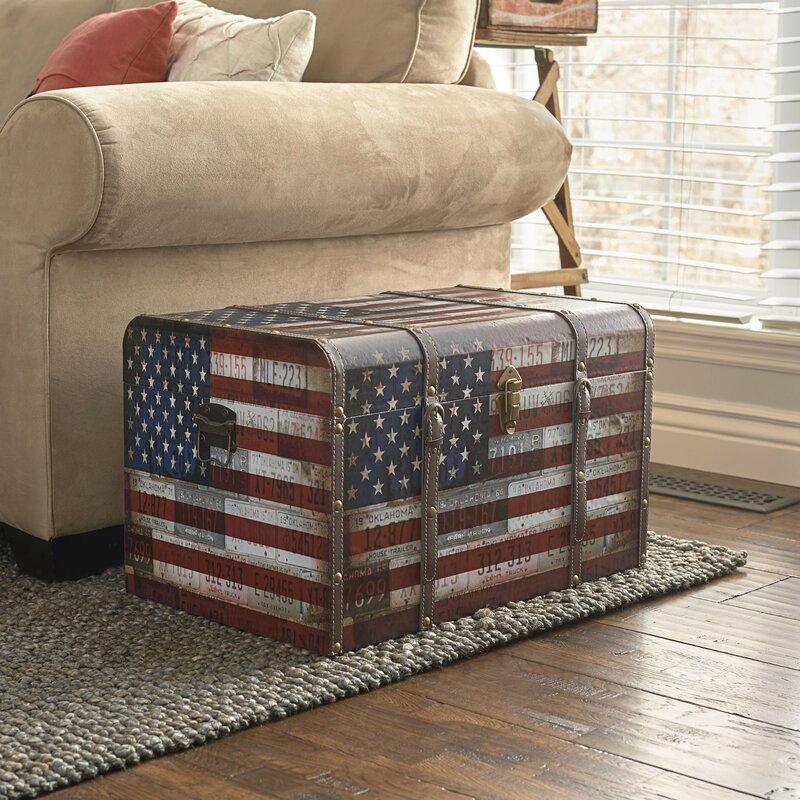 Charlton Home Sumner Americana Decorative Home Storage