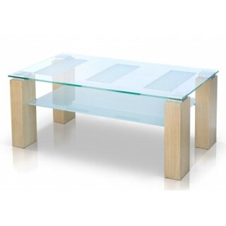 Alyson Glass Top Coffee Table by Brayden Studio SKU:EC509405 Guide