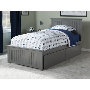 Top Reviews Amodio Platform Bed with Drawers By Mack & Milo