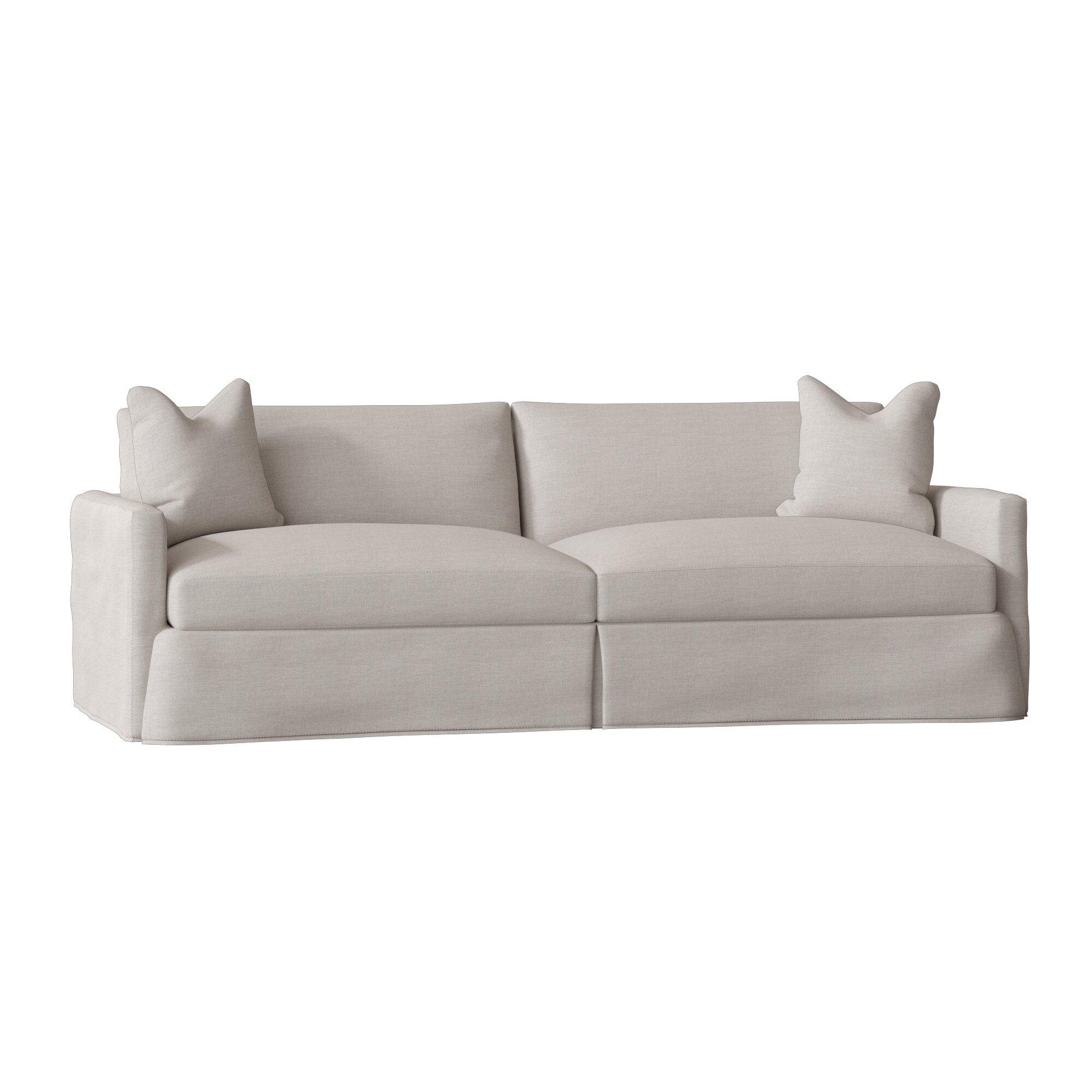 Wayfair Custom Upholstery Madison Xl Slipcovered Sofa Reviews
