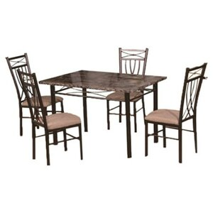 Branden 5 Piece Dining Set