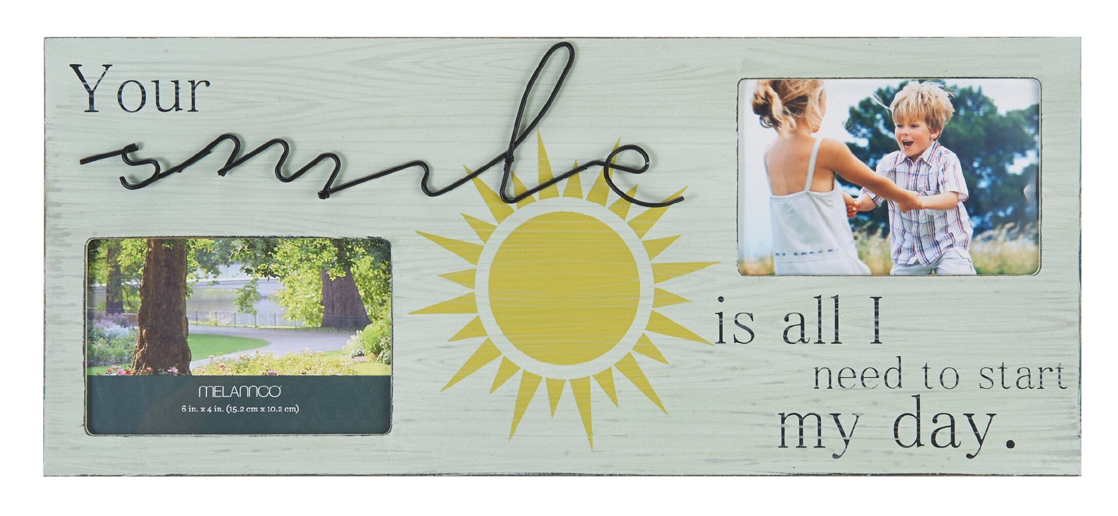 Melannco 2-Opening Smile Sentiment Collage Picture Frame | Wayfair