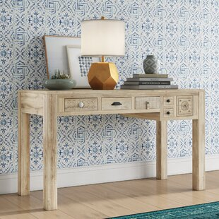 Abigail Carved Console Table