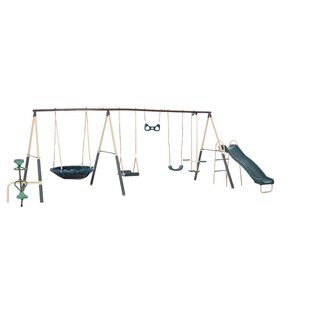XDP Recreation Natural Playland Deerfield Playground Swing Set