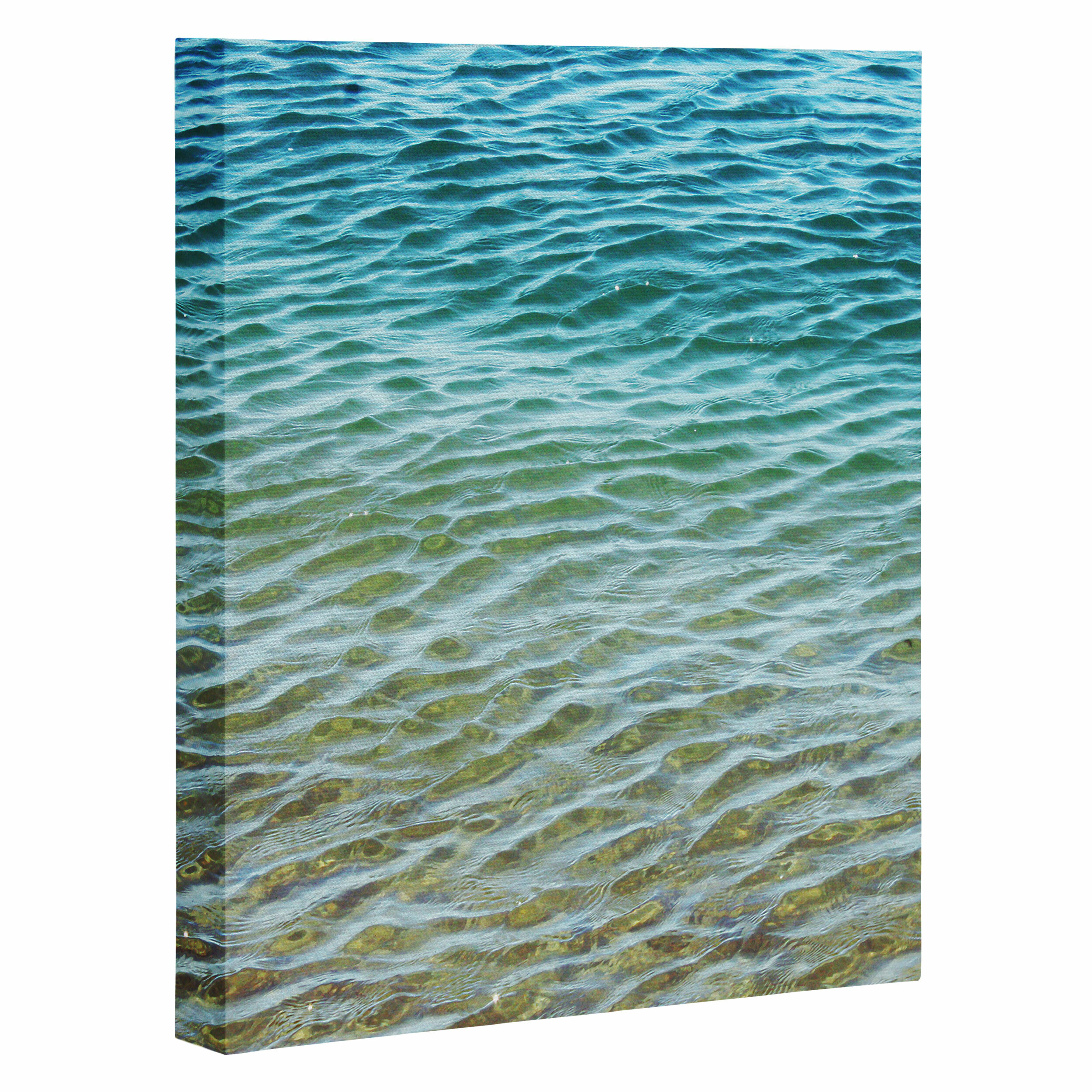 Deny Designs Ombre Sea by Shannon Clark Photographic Print on Wrapped  Canvas & Reviews | Wayfair