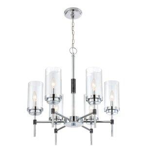 Elvira 6-Light Candle-Style Chandelier