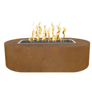 The Outdoor Plus Bispo Steel Fire Pit