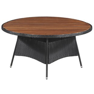 Shefford Rattan Dining Table By Sol 72 Outdoor