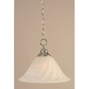 Red Barrel Studio Capra 1-Light Bowl Pendant