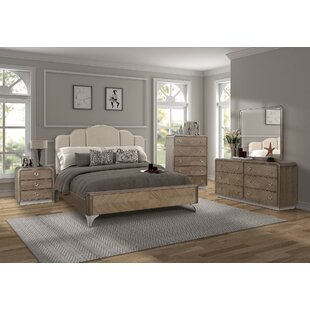 Waterfall Panel Configurable Bedroom Set by Fairfax Home Collections