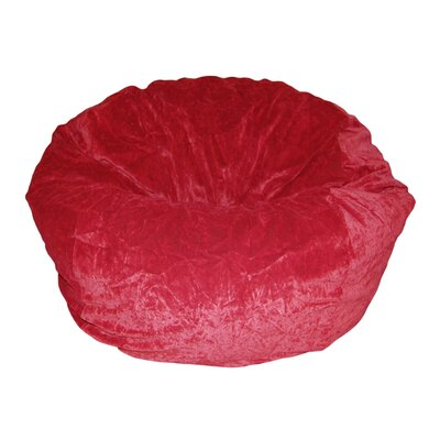 Ahh! Products Bean Bag Chair Upholstery: Dark Red