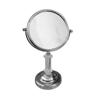 Best Review Freestanding Magnifying Makeup Mirror By Elegant Home Fashions