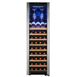 46 Bottle Touch Panel Single Zone Freestanding Wine Cooler