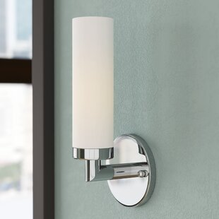 Kneeland 1-Light Bath Sconce By Zipcode Design