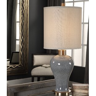 Savings Roche 34 Table Lamp By Everly Quinn