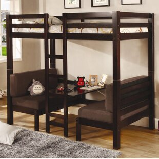 Compare prices Shackleford Convertible Bunk Bed by Harriet Bee Reviews (2019) & Buyer's Guide