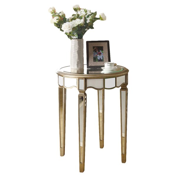 Mirrored End Tables Up To 65 Off Through 03 16 Wayfair