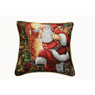 Santa Claus Throw Pillow Cover