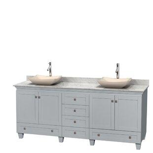 Acclaim 80 Double Bathroom Vanity Set