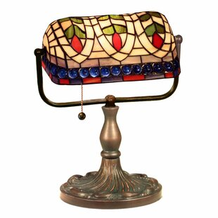 Online Reviews Eyes 13 Banker Lamp By Astoria Grand